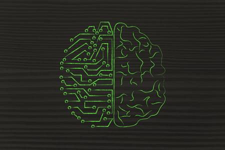 artificial intelligence: artificial intelligence and human brain comparison design