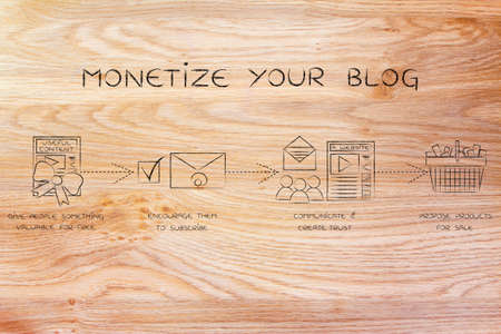 monetize: monetize your blog: steps to earn new subscribers and build an online business