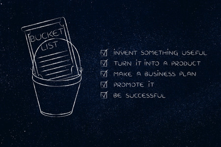 Marvelous Bucket List Of Entrepreneurial Success Dreams: Invent Something Useful To  Turn Into A Profitable Product