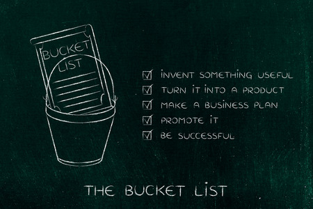 Bucket List Of Entrepreneurial Success Dreams: Invent Something