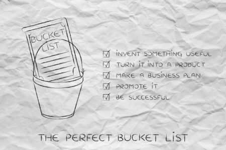 Superb Bucket List Of Entrepreneurial Success Dreams: Invent Something Useful To  Turn Into A Profitable Product