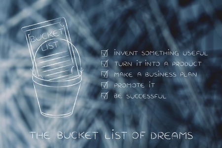 Good Bucket List Of Entrepreneurial Success Dreams: Invent Something Useful To  Turn Into A Profitable Product