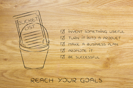 Bucket List Of Entrepreneurial Success Dreams Invent Something