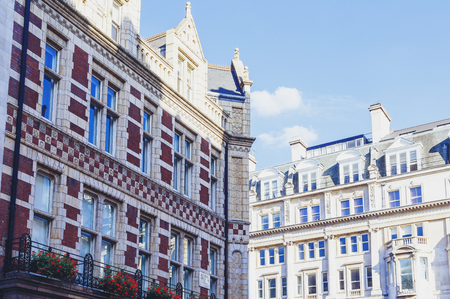 LONDON, UNITED KINGDOM - August 09, 2015: Architecture in London city centre close to Piccadilly street