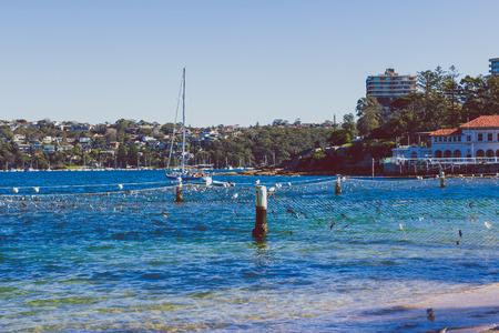 SYDNEY, AUSTRALIA - July 7th, 2013: view of Manly Beach in Sydney