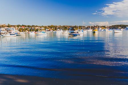 SYDNEY, AUSTRALIA - July 12th, 2013: view of Watsons Bay in Sydney