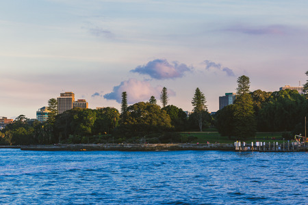 SYDNEY, AUSTRALIA - July 11th, 2013: view of one of Sydney Harbours beautiful bays