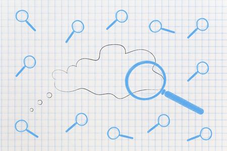 概念図を解く:他者に囲まれた思考バブルを拡大鏡化する