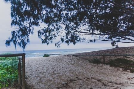 GOLD COAST, AUSTRALIA - January 14th, 2015: view of Main beach on the Gold Coast