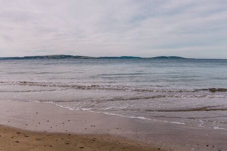 beautiful pristine Tasmania beach with serene sky on a winter evening at dusk Stock Photo - 148962038