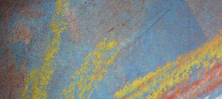 abstrait: aube estivale