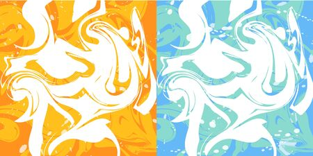 duo tone: Marbling background