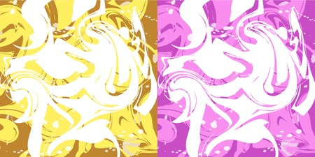 Marbling background Stock Vector - 15472648