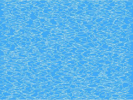 scribble line on blue backgrpund Stock Vector - 16576522