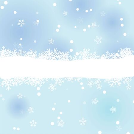 snow winter background Stock Vector - 16644328