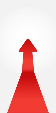red arrow Stock Vector - 17019693