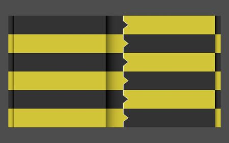 black yellow design template