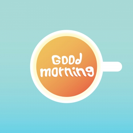 cold day: good morning coffee