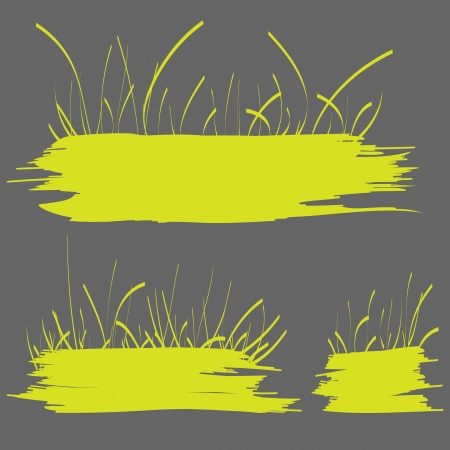 green grass banner Stock Vector - 18365764