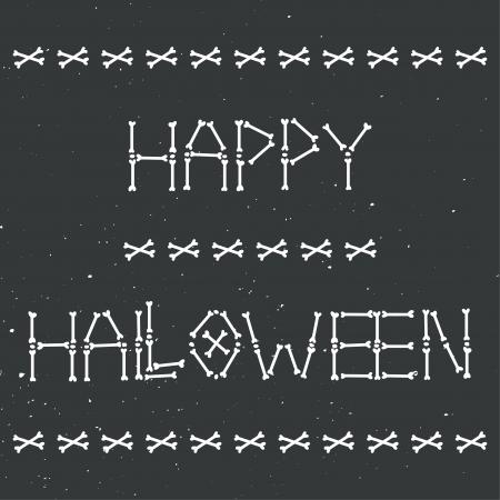 happy halloween skeleton card