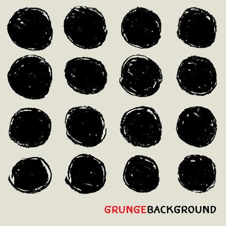 texture di carbone di sfondo, forma grunge, gesso sfondo, etichetta cerchio