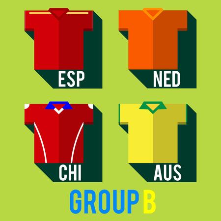football team shirt
