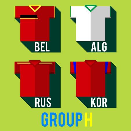 football team shirt Vector