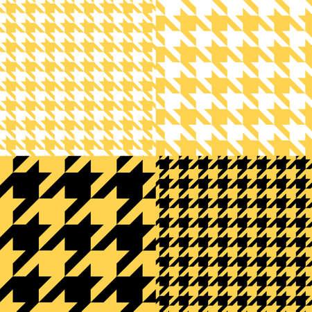 seamless graphic patterns set Illustration