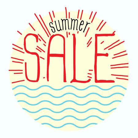 summer sale Ilustração