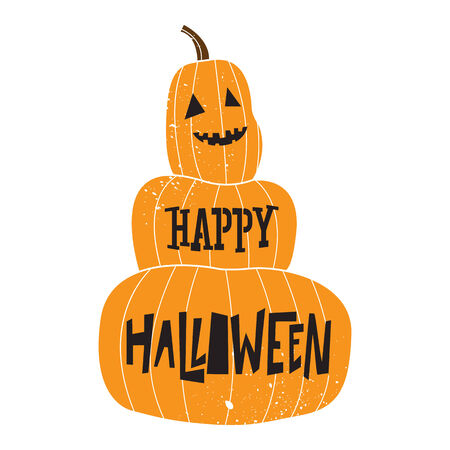 happy halloween greeting card,pumpkin face