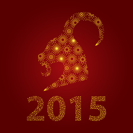 happy chinese new year 2015,the year of goat