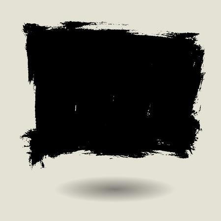 pincel: detalle la textura del grunge, fondo de la pintura del cepillo