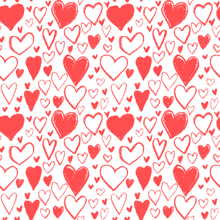 love couples: heart pattern,handdrawn heart bubble,happy valentines day,gift wrap Illustration