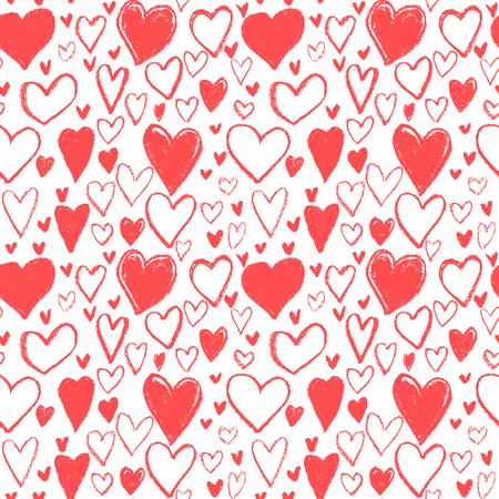 parejas amor: modelo del corazón, burbuja corazón dibujado a mano, del día de san feliz, papel de regalo