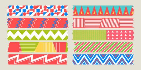 masking: graphic pattern masking tape set