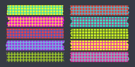 masking: neon masking tape collection