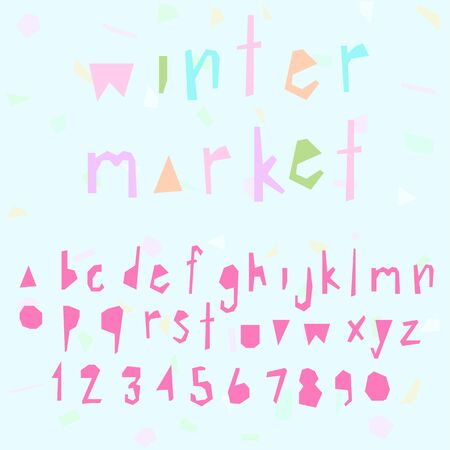 doodle alphabet,fun font