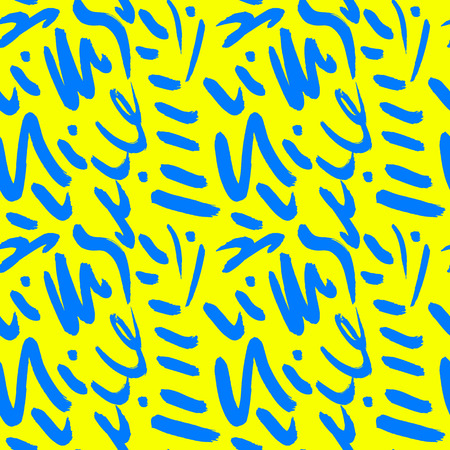 Doodle brush with summer pattern.