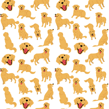 golden retriever pattern,dog poses,dog breed