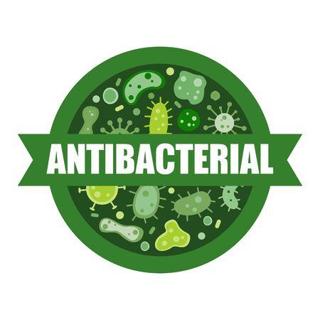 antibacterial sign,vector illustration