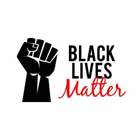 Black Lives Matter protest banner