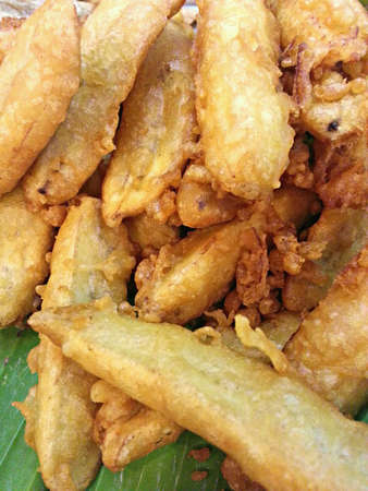 goreng: Fried Banana Fritters or Pisang Goreng.