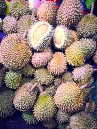 stinks: Durian king of fruit Stock Photo