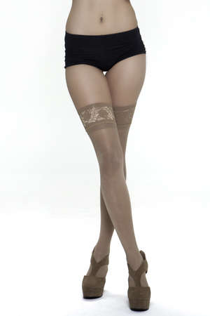 Sexy lady legs and body Stock Photo