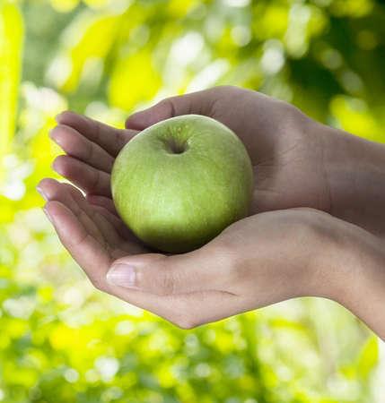 Go green health concept