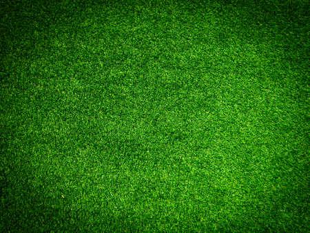 Sfondo di erba artificiale per il design, vista dall'alto