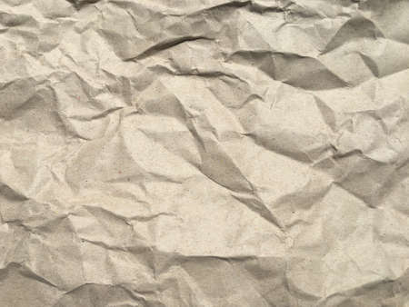 Wrinkled paper background with copy space for Design and work
