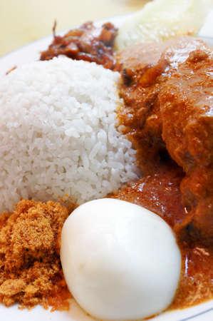 lemak: Famous malaysian food nasi lemak
