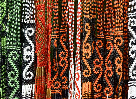 ornately: Pattern of Borneo Bead Crafts