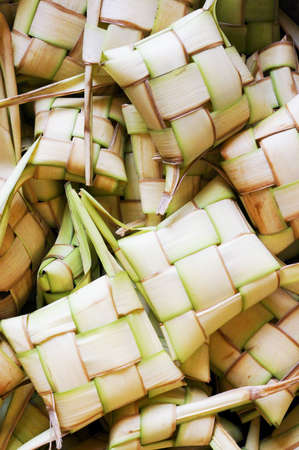 manjar: Ketupat manjar local